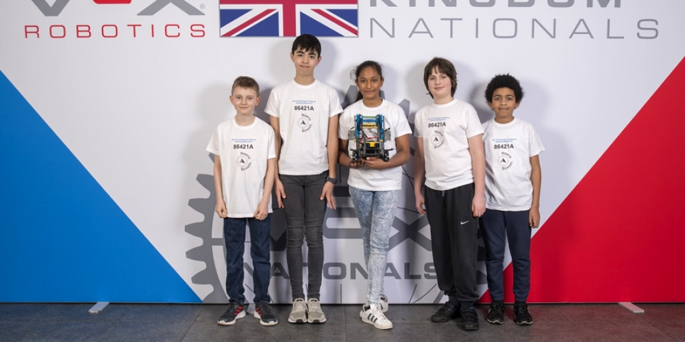 Essex Primary School Heading to Kentucky, USA for Robotics World Championship